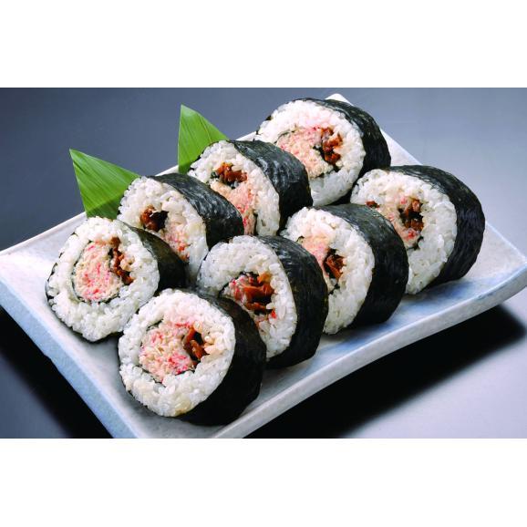 【組み合わせ自由!カニ寿司を3本以上購入で送料無料】 ※同一送り先に限ります 蟹工船 たらば蟹 太巻寿司02