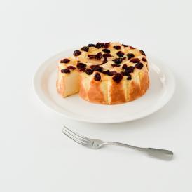 クランベリーアーモンドチーズケーキ:カオリーヌ菓子店