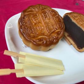 豆沙月餅(中国広東式・粤式大月餅)