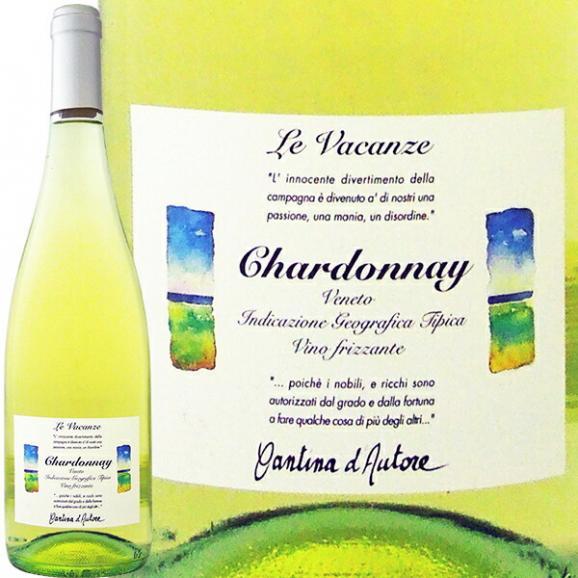 微発泡 白ワイン wine レ・ヴァカンツェ・シャルドネ chardonnay ・フリッツァンテ・デル・ヴェネト スパークリング sparkling ワイン wine 辛口 ワイン wine  01