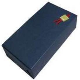ギフトボックス(2本用)包装紙【紺】・のし可
