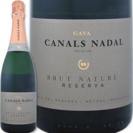 カナルス・ナダル・カバ・ブリュット・ナチュレ・レセルバ【スペイン】【白スパークリングワイン】【750ml】【極辛口】