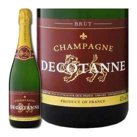 シャンパーニュ・ドゥコタンヌ・ブリュット【辛口】【シャンパン】