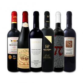 【送料無料】第54弾!≪濃厚赤ワイン好き必見!≫大満足のフルボディ6本セット!