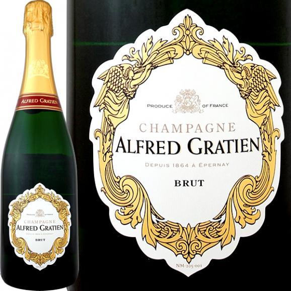 シャンパーニュ・アルフレッド・グラシアン・ブリュット【シャンパン】【フランス】【スパークリング】【750ml】【Alfred Gratien】01