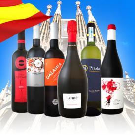 【送料無料】華麗なる新時代スペインワインセット!!| 赤ワイン 白ワイン セット ワインセット スペイン スペインワイン 結婚記念日 結婚祝い プレゼント お酒 辛口 ミディアムボディ フルボディ