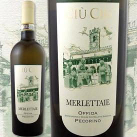 チウ・チウ・レ・メルレッタイエ 2015【イタリア 】【白ワイン】【750ml】【辛口】