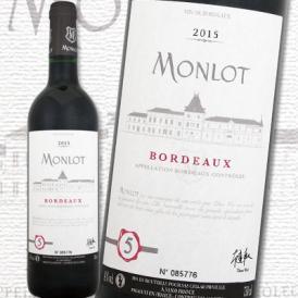 モンロ NO5 2015【フランス 】【ボルドー】【750ml】