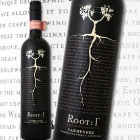 ルート・ワン・カルメネール・レゼルヴァ 2014【チリ】【赤ワイン】【750ml】【辛口】【フルボディ】【5つ星】【トップ・オブ・トップ】【Root One】【Ventisquero】