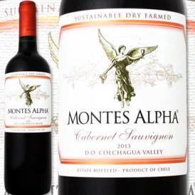 モンテス・アルファ・カベルネ・ソーヴィニョン 2014チリ 赤ワイン 750ml フルボディ 92点 辛口 Montes