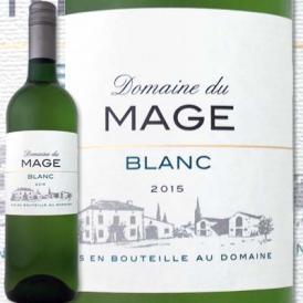 ドメーヌ・デュ・マージュ 2016【フランス】【白ワイン】【750ml】【辛口】