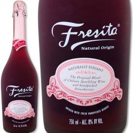 フレシータ・ストロベリー・スパークリング【チリ】【イチゴ】【カクテル】【ロゼ750ml】【Fresita】