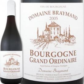 ドメーヌ・ブレマン・ブルゴーニュ・グラン・オーディネール 2005<br><br>【フランス】【ブルゴーニュ】【750ml】【ミディアムボディ寄りのフルボディ】【辛口】