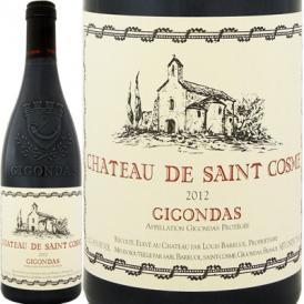 シャトー・ド・サン・コム・ジゴンダス 2015フランス 赤ワイン 750ml フルボディ 神の雫 Saint Cosme|還暦祝い フランスワイン ギフト プレゼント お酒