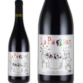 ラ・パッション・グルナッシュ 2015フランス 赤ワイン 750ml ミディアム 神の雫|辛口 ラパッション 誕生日プレゼント フランスワイン ギフト お酒 還暦祝い 結婚記念日