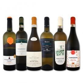 【送料無料】ワンランク上の厳選イタリア白ワイン6本セット