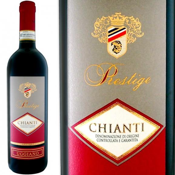 赤ワイン イタリア ウッジアーノ・キャンティ・プレステージ 2017【イタリア 】【赤ワイン】【750ml】【トスカーナ】【Chianti】01