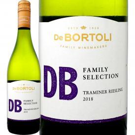 オーストラリア ワイン db デ・ボルトリ・DB・トラミナー・リースリング(最新ヴィンテージ)【オーストラリア】【白ワイン】【750ml】【ライトボディ】【やや甘口】