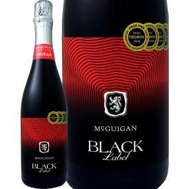 マクギガン・ブラック・ラベル・シラーズ・スパークリング sparkling スパークリング sparkling 赤 750ml オーストラリア Australia McGuigan バーベキュー