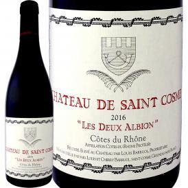 シャトー・ド・サン・コム・コート・デュ・ローヌ・レ・ドゥー・アルビオン 2016 フランス France 赤ワイン wine 750ml フルボディ 神の雫 Saint Cosme