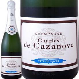 スパークリング sparkling ワイン wine 白 シャンパーニュ・シャルル・ド・カサノーヴ・ブリュット フランス France 白スパークリング sparkling ワイン wine 75