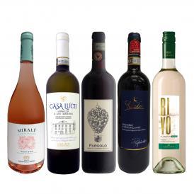 60セット set 限り 赤・白・ロゼ rose 厳選トスカーナワイン wine 5本セット set