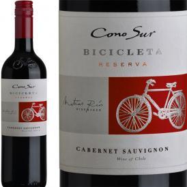フルボディ コノスル・カベルネ・ソーヴィニョン・ビシクレタ チリ 赤ワイン wine 750ml 辛口 Cono Sur