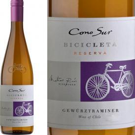 コノスル・ゲヴェルツトラミネール・ビシクレタ チリ 白ワイン wine 750ml 辛口