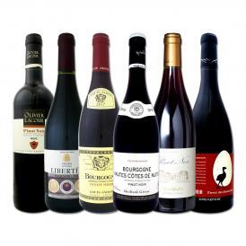 激得ブルゴーニュ bourgogne &南仏 フレンチ・ピノ・ノワール6本セット set ワイン wine ワイン wine セット set セット set 赤ワイン wine セット