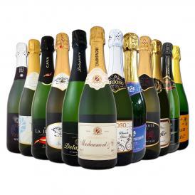 第3弾 シャンパン入り 辛口スパークリング sparkling ワイン wine 12本セット set