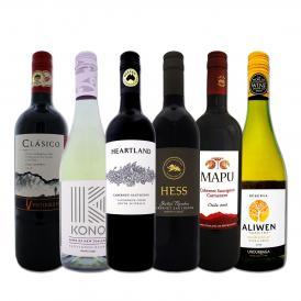 豪州カリスマの造るカベルネをはじめ、超お買い得ワイン wine ばかりを集めた新世界厳選6本