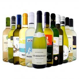 1本あたり665円 税別 採算度外視の大感謝 厳選白ワイン wine 12本セット set