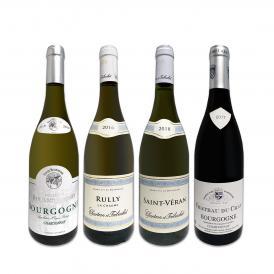 第4弾 厳選ブルゴーニュ bourgogne 白ワイン wine 4本セット set