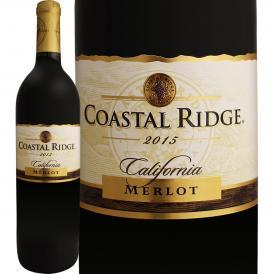 コースタル・リッジ・カリフォルニア・メルロー 2015 Coastal Ridge 赤ワイン wine 750ml