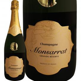 シャンパーニュ・モンサラ・グランド・レゼルヴ・ブリュット シャンパン フランス France スパークリング sparkling 750ml Monsarrat