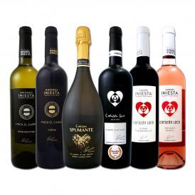 ボデガ・イニエスタ iniesta のオールスターワイン wine 6本セット set