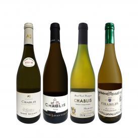 シャブリ chablis 4本セット set 圧倒的人気を誇る辛口白ワイン wine 筆頭 厳選シャブリ chablis が4本入った超お買い得辛口白ワイン wine シャブリ chablis