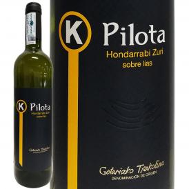 チャコリ・K ピロタ 2019 スペイン Spain 白ワイン wine 750ml ライトボディ 辛口 バスク ゲタリア 地酒 オンダラビ・ズリ パーカー parker 90点 アルギニャー