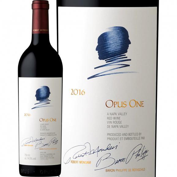オーパス・ワン Opus One  2016 アメリカ America 赤ワイン wine 750ml フルボディ 辛口 パーカー parker 98点 歴代最高ヴィンテージ Opus One 01