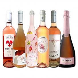 世界的にも大人気 お洒落な大人のためのロゼ rose ワイン wine 6本セット set