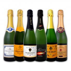 第74弾 泡祭り 当店厳選辛口スパークリング sparkling ワイン wine 6本スペシャルセット set
