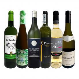 第1弾 当店 極 厳選 白ワイン wine 好きならこのセット set 格別の美味しさ 華やかな上質白ワイン wine を存分に味わう贅沢白ワイン wine 6本セット set