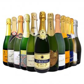 第12弾 シャンパン入り 辛口スパークリング sparkling ワイン wine 12本セット set