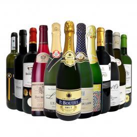 第15弾 本格シャンパン&ブルゴーニュ bourgogne 入り 特大スペシャル12本セット set