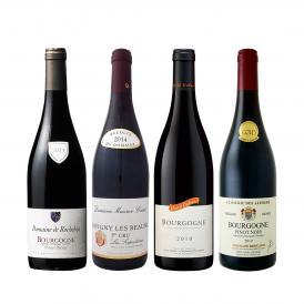 極上プルミェ・クリュ 一級畑 入り 厳選ブルゴーニュ bourgogne 赤ワイン wine 4本セット set