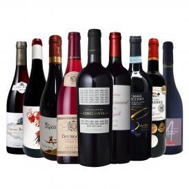端数在庫一掃 すべて厳選格上赤ワイン wine 9本セット set