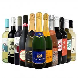 1本599円 税込 50%OFF 最強クラスの超激得ワイン wine スーパーバリュー12本 圧倒的お買い得なオールイン赤白泡MIX12本7188円 税込