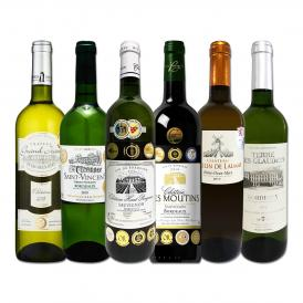 8冠金賞2本入り ボルドー bordeaux 金賞白ワイン wine 6本セット set