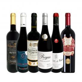 第4弾 当店 極 厳選 赤ワイン wine 好きならこのセット set 格別の美味しさ コク旨上質赤ワイン wine を存分に味わう贅沢赤ワイン wine 6本セット set