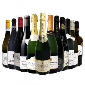 第19弾 本格シャンパン&ブルゴーニュ bourgogne 入り 特大スペシャル12本セット set